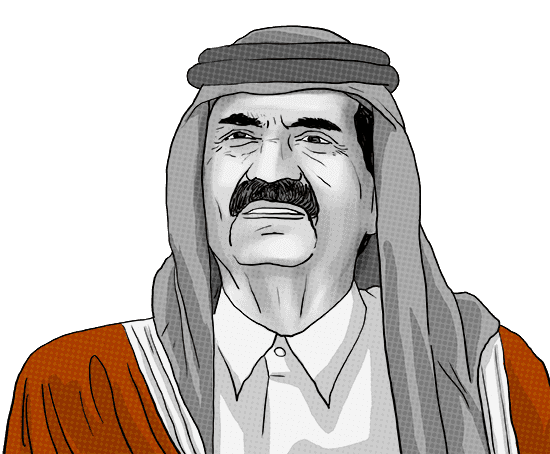 Former Emir of Qatar