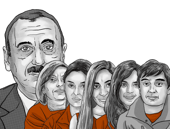 Azerbaijan's first family