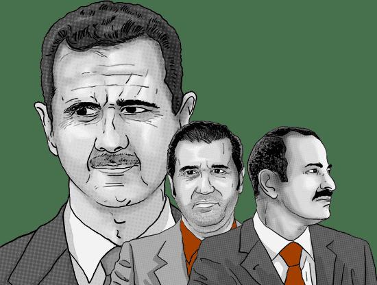 Cousins of Syrian President Bashar Assad