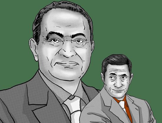 Son of former Egyptian president