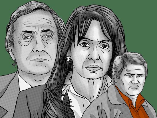 Aide to former Argentine presidents Kirchner