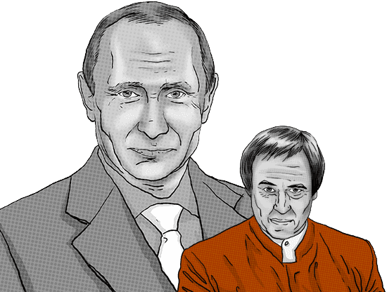 Close friend of Russian President Vladimir Putin