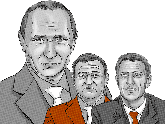 Childhood friends of Russian President Putin