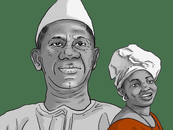 Widow of Guinea's former dictator